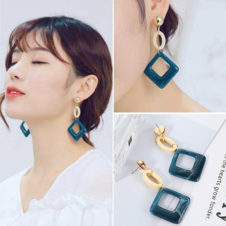 2018 vintage women's fashion Alec earrings rhinestone earrings wedding party Christmas gifts wholesale