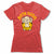 Logo-Bitty-Buda-Women-T-Shirt-Red