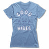 Good-Vibes-Bitty-Buda-Women-T-Shirt-Blue