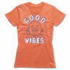 Good-Vibes-Bitty-Buda-Women-T-Shirt-Orange