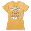 Good-Vibes-Bitty-Buda-Women-T-Shirt-Yellow