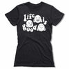 Life-Is-Good-Bitty-Buda-Women-T-Shirt-Black