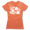 Life-Is-Good-Bitty-Buda-Women-T-Shirt-Orange
