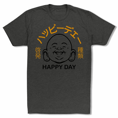 Bitty-Buda-Happy-Day-Men-T-Shirt-Black