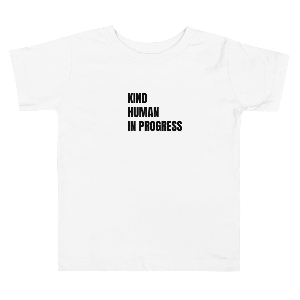 Toddler Kind Human in Progress White