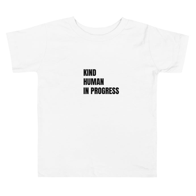 Toddler Kind Human in Progress White (4333725777969)