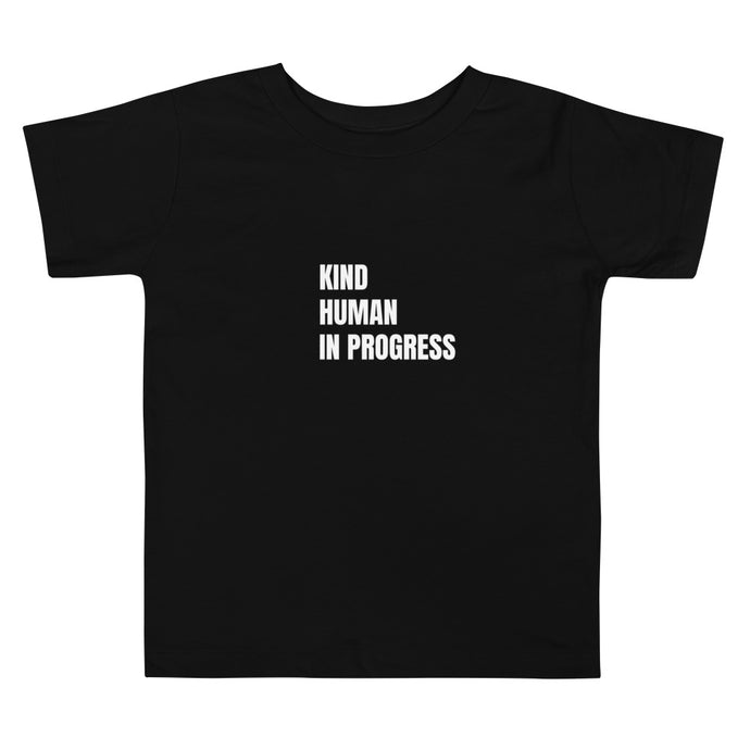Toddler Kind Human in Progress Black (4333730463793)