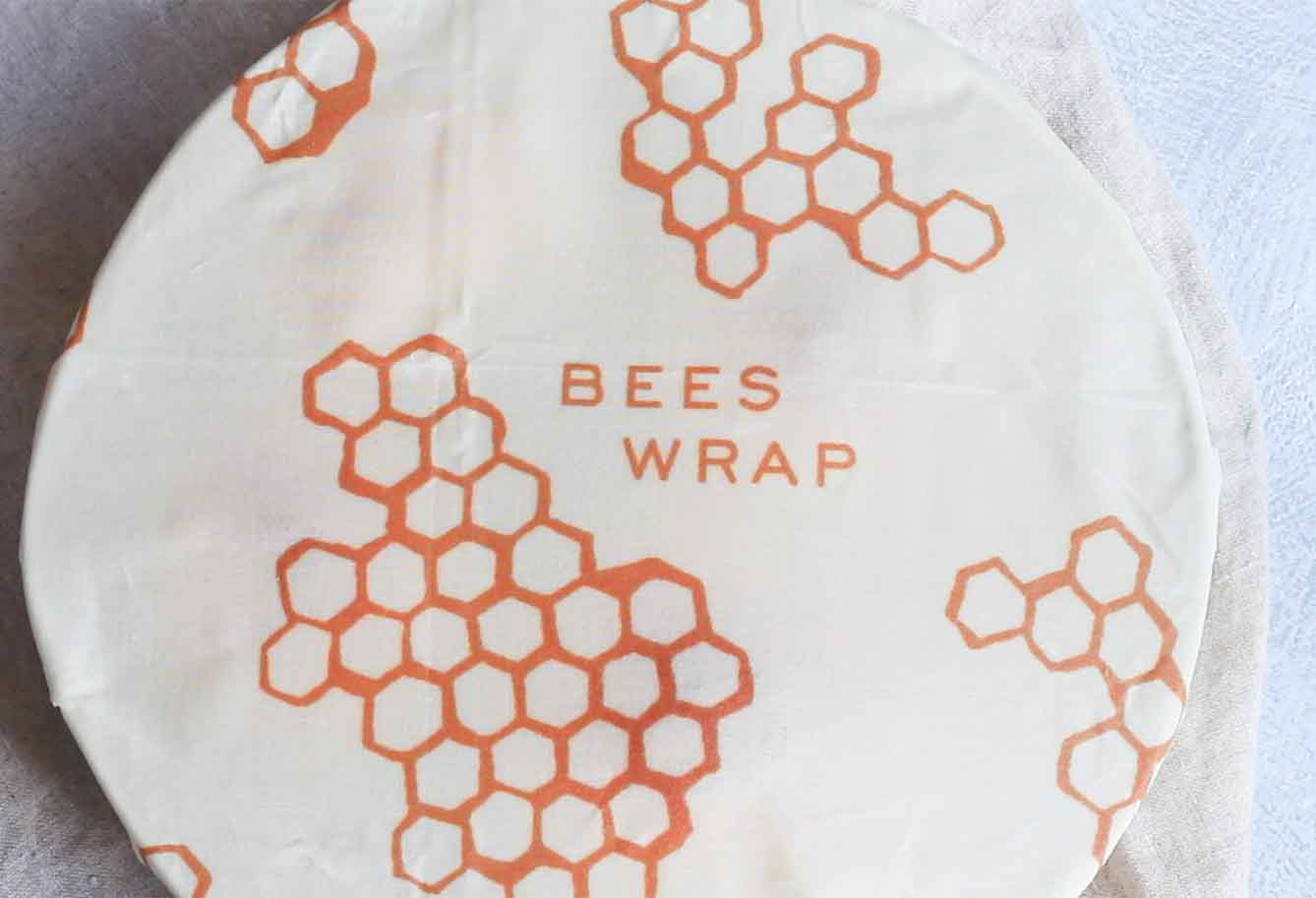 Bowl covered in Bee's Wrap
