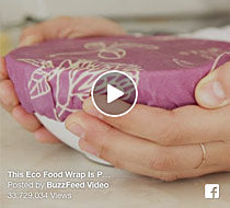 The hive is buzzing thanks to Buzz Feed's video showcasing Bee's Wrap!