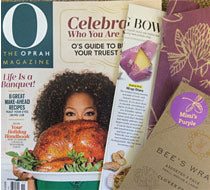 Bee's Wrap in Oprah Magazine!