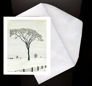 Favourite Tree Eco Greeting Card