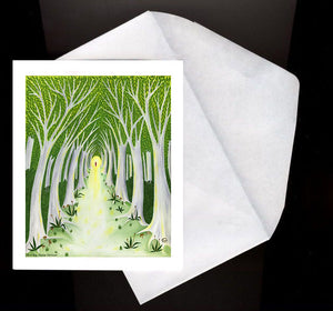 A Meaningful Life Eco Greeting Card