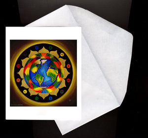 World Peace Eco Greeting Card