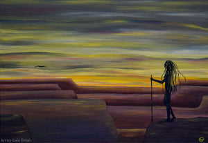 Quest at Dawn - Oil on Canvas - 60 x 45 cm