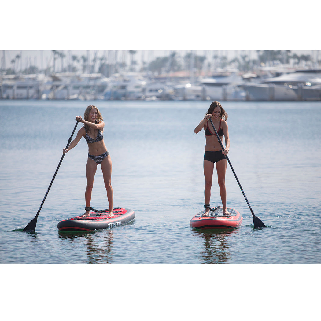 Xterra Paddle Boards >> XTERRA BOARDS 10' Premium Black Inflatable SUP Package