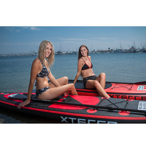10' Premium Black Inflatable SUP Package