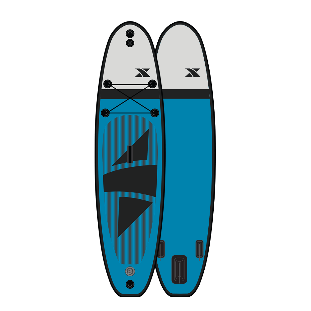 11' Ranger - Blue/Grey Complete Paddleboard Package