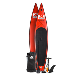 "12'6"" Red Touring Inflatable SUP Package Special"