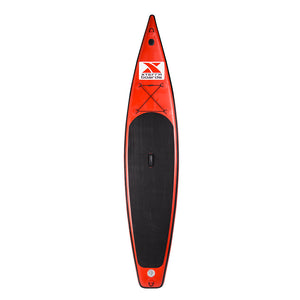 "12'6"" Red Touring Inflatable SUP Package"