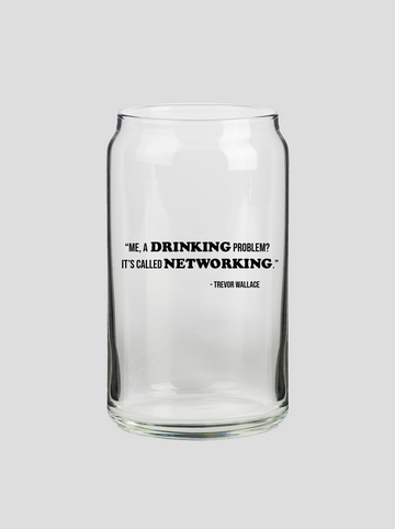 Networking | Beer Can Glass