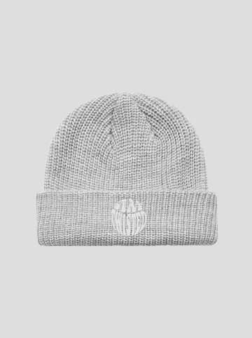 Stay Twisted | Grey Beanie