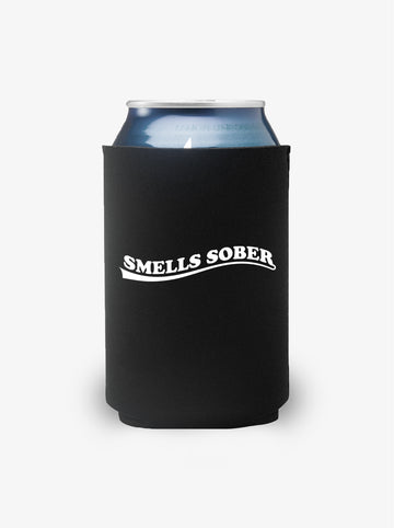 'Smells Sober' - Black Koozie