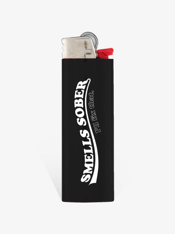 'Smells Sober' - Black Lighter