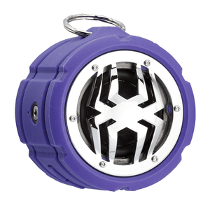 Spider Bluetooth Waterproof Speaker BT802_Purple