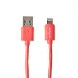 USB Charge Sync for iPhone, iPod, iPad _2M _ Red
