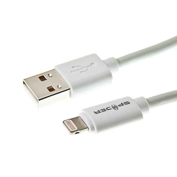 USB Charge Sync for iPhone, iPod, iPad _2M _ White