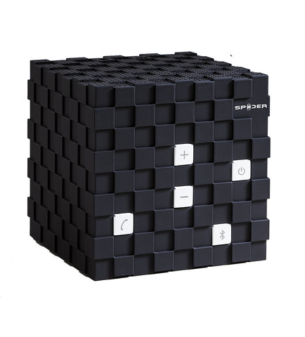 Spider Cube Bluetooth Speaker_Black
