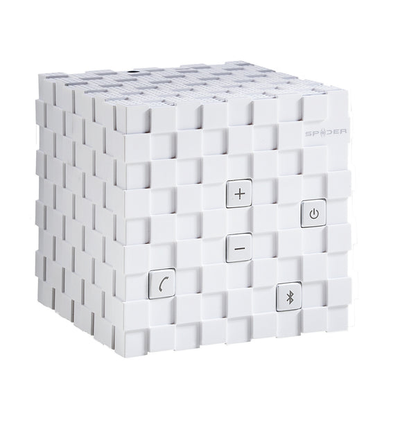 Spider Cube Bluetooth Speaker_White