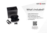 Spider Truly Wireless Bluetooth Earphones BT200