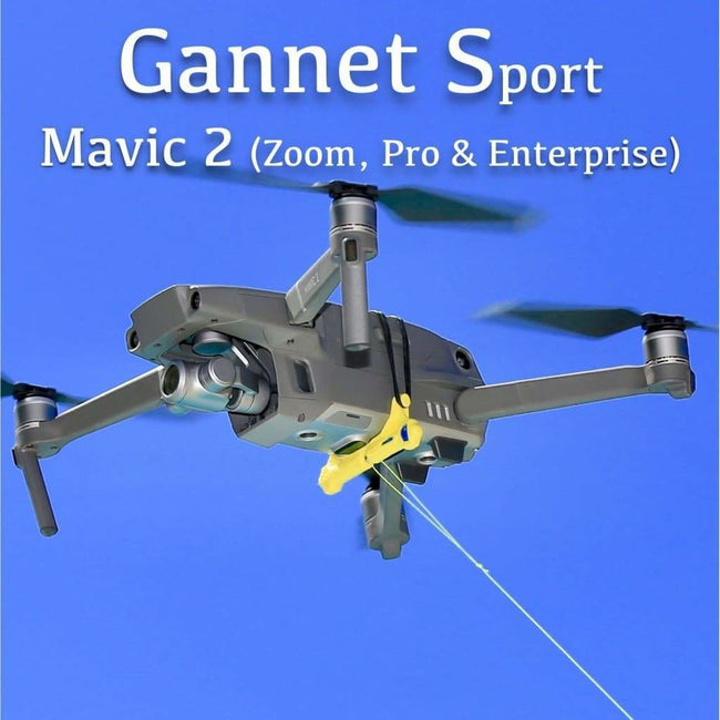 Drone Fishing - Gannet Sport Fishing Bait Release -DJI Inspire 2 (Including Flat Adapter) - DJI Inspire 2 (Including Flat Adapter) - Bait