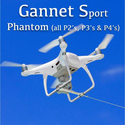 Drone Fishing - Gannet Sport drone fishing bait release for DJI Phantom drones - Bait Dropper