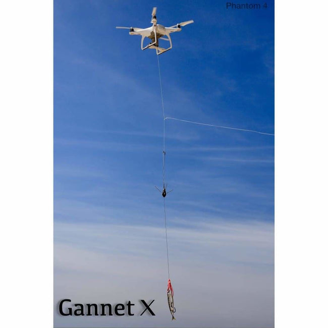 Drone Fishing - Gannet X Drone Fishing Bait Release For DJI Phantom 3 & 4 Gannet - Gannet X-Phantom 3 & 4 Black - Bait Dropper