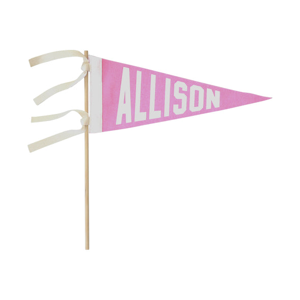 Personalized Name Pennant
