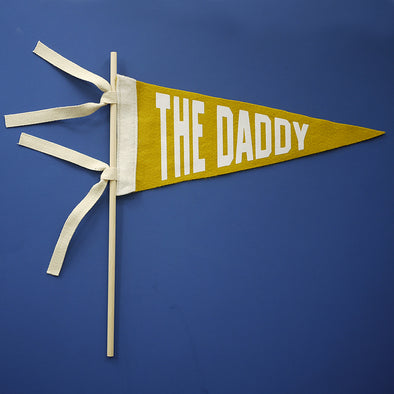 Fathers Day Felt Pennant