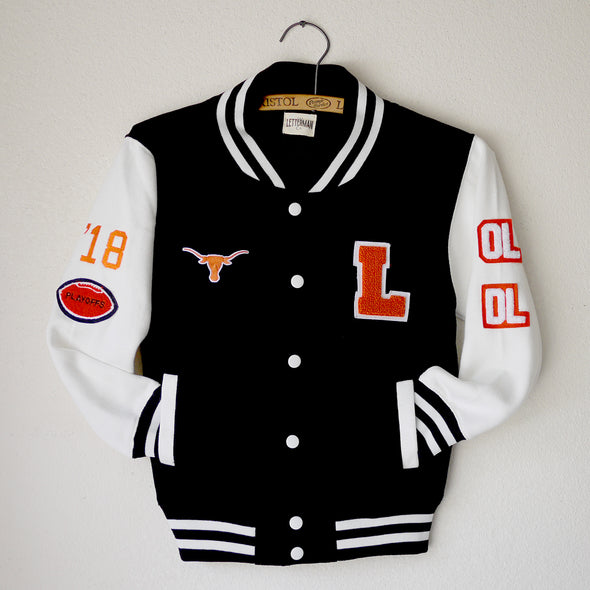 Texas LH Youth Varsity Jacket