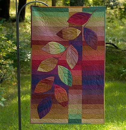 Cherry Roll Vine Quilt Kit