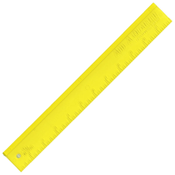 "Add-A-Quarter Ruler 12"" Yellow"