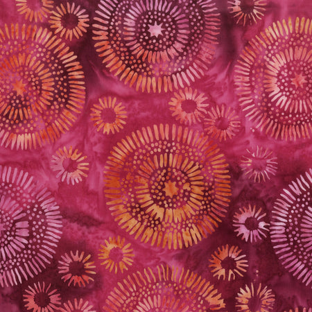Jacqueline's Imagine Batik ($13/yd)