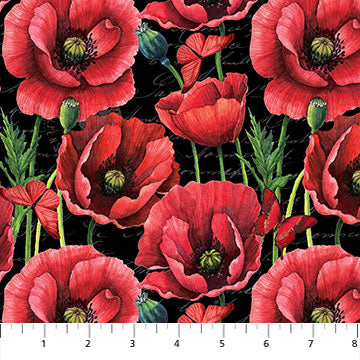 Poppy All Over ($12/yd)