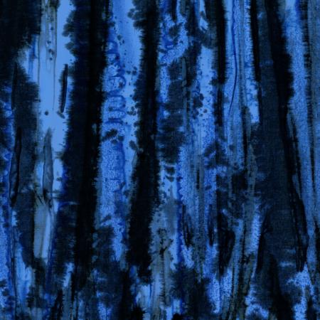 Blossom Batik - Valley Fossil - Midnight Blue ($13/yd)