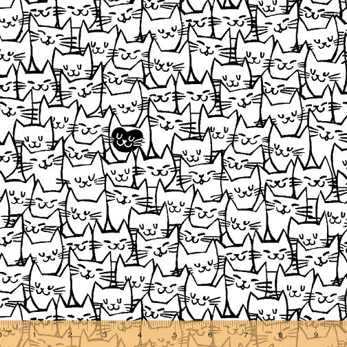 "108"" Packed Cats ($18/yd)"