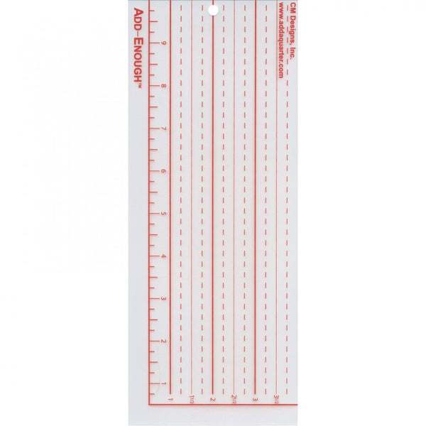 Add-Enough Ruler