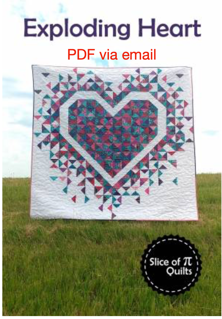 Exploding Heart Pattern - PDF via email