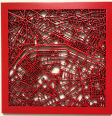 "Paris 10"" J-Storm Urban Map"
