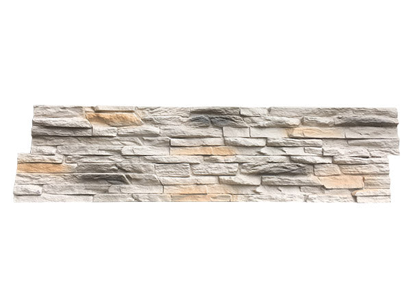 SMALL STACKED STONE - LIGHT GRAY