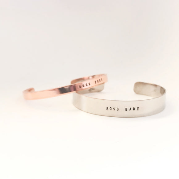 Lux + Luca Jewelry Co. - Boss Babe Cuff
